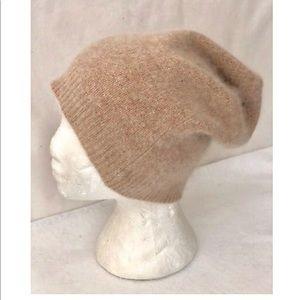 OS 360 ETC Genuine Wool/Raccoon Slouchy Beanie
